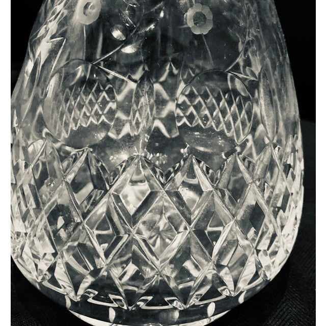 Early 21st Century Vintage Rogaska Gallia Crystal Decanter For Sale - Image 5 of 13