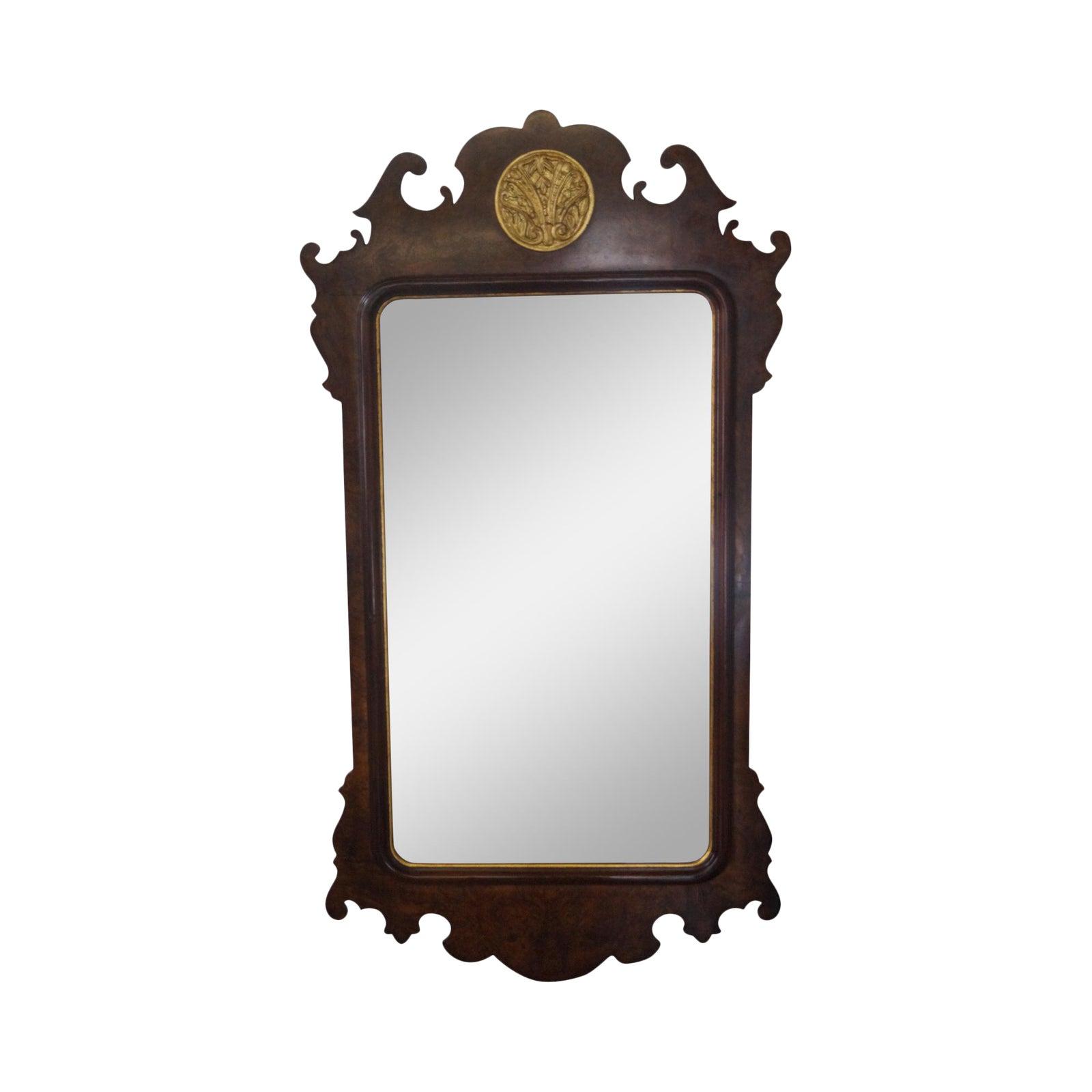 Henredon Chippendale Style Beveled Wall Mirror Chairish
