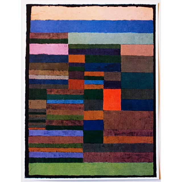 "Blue 1958 ""Individualized Measurement of Strata"" Lithograph by Paul Klee For Sale - Image 8 of 8"