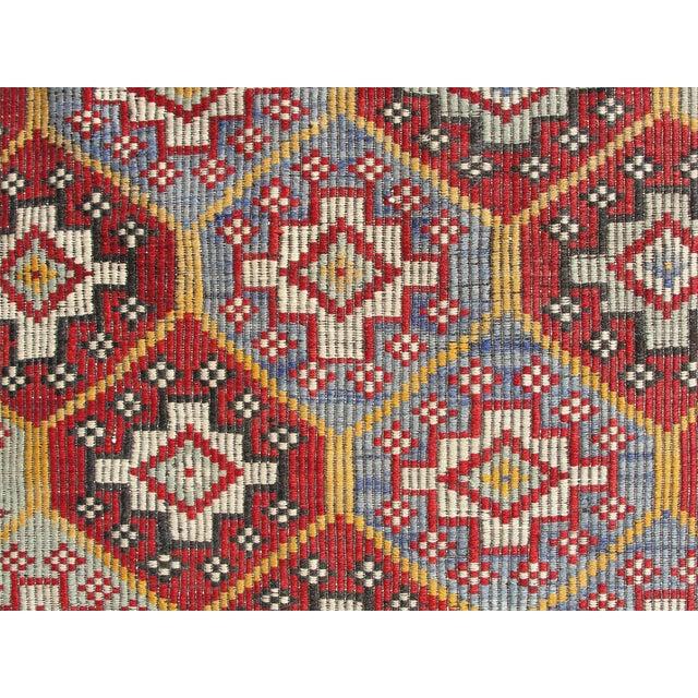 Vintage Turkish Kilim Rug - 6′4″ × 10′1″ For Sale In Houston - Image 6 of 11