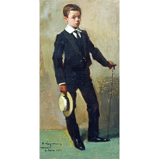Maurice Wagemans was a Belgian painter who was born in 1877 and died 1927. Maurice Wagemans's work has been offered at...