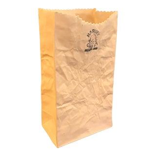 Pop Art Ceramic Paper Bag Vase