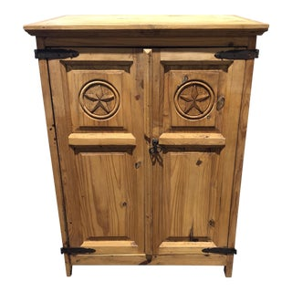 Solid Oak Amish or Texas Star Cabinet