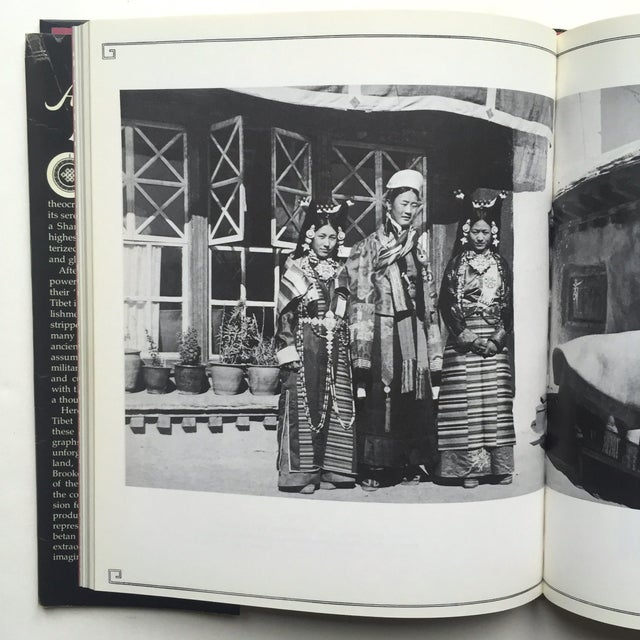 """Paper """"A Portrait of Lost Tibet"""" Cultural History Vintage 1980 1st Edtn Photography Book For Sale - Image 7 of 10"""