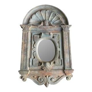 Baroque Style Italian Plaster Mirror