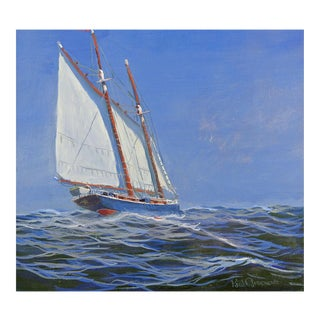 Sailing Yacht Painting
