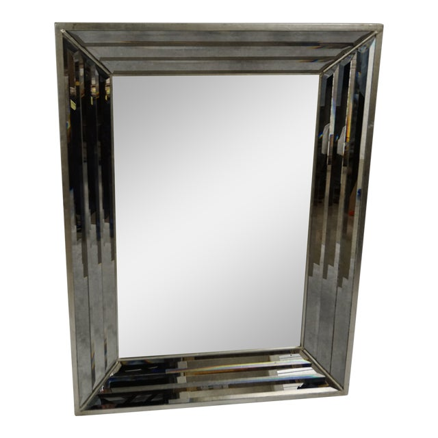 Venetian Mirror With Beveled Frame For Sale