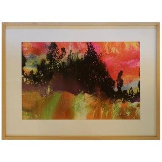 Harvey Leepa Watercolor #2 For Sale