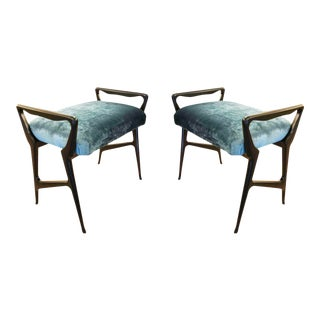 Italian Mid-Century Benches - a Pair For Sale