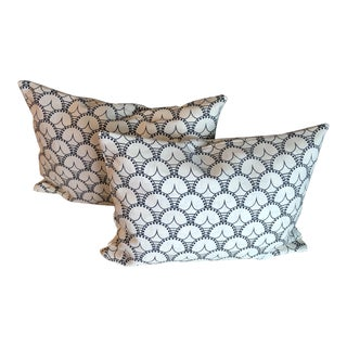 Good Fortune Pillows by Prints Etc Inc - A Pair For Sale