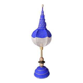 Mid 20th Century French Orientalist-Inspired Table Lamp For Sale