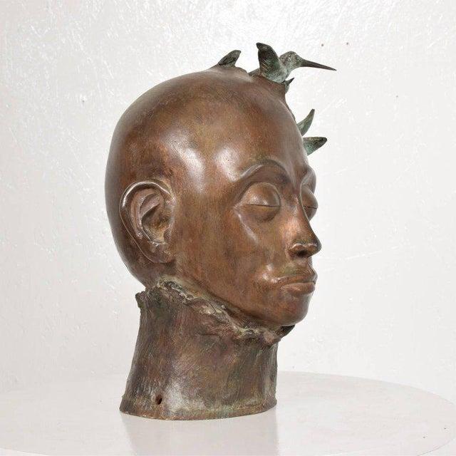 Surrealist Bronze Sculpture, Mexico, 1960s For Sale - Image 13 of 13