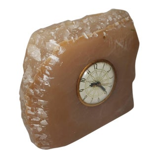 Early 20th Century Monumental Quartz Electric Clock with Original Works For Sale
