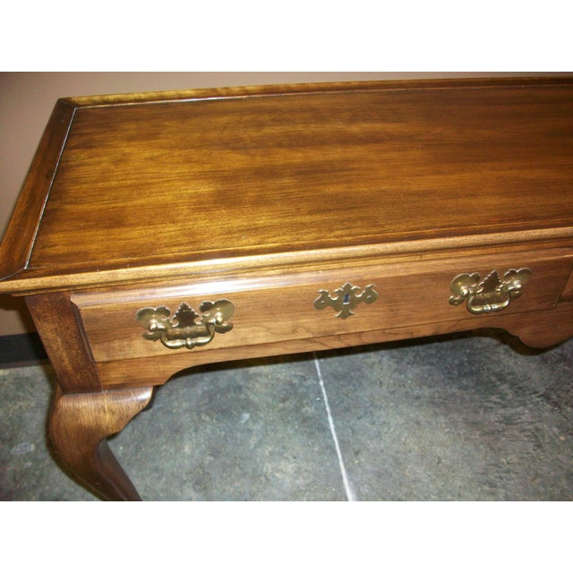 Harden Queen Anne Style Sofa Table Console For Sale - Image 9 of 10