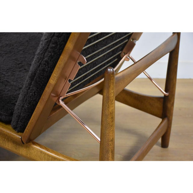 Chaise Lounge Chair by Kofod Larsen for Selig For Sale In Boston - Image 6 of 10