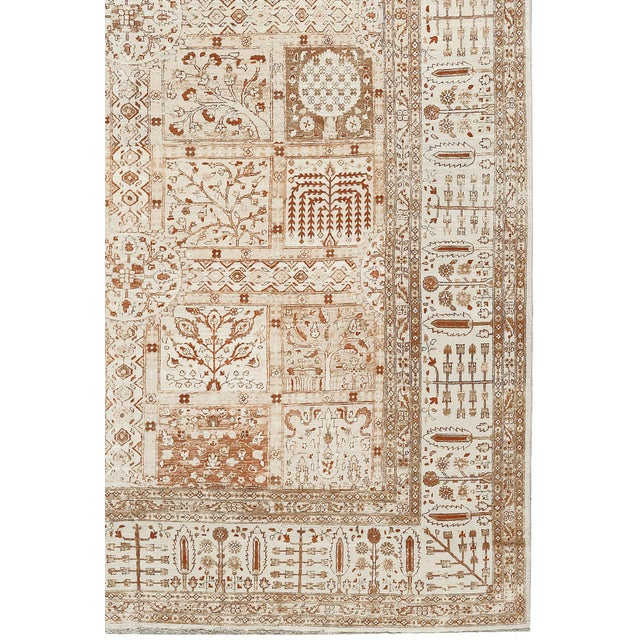 "Traditional Traditional Hand Woven Rug - 10'5"" x 16'6"" For Sale - Image 3 of 3"