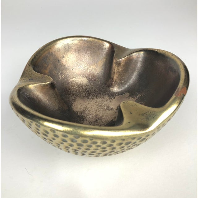 Phenomenal Modernist Brass catchall by Famed industrial designer, Ben Seibel. Let's be honest - I'm sure that when this...