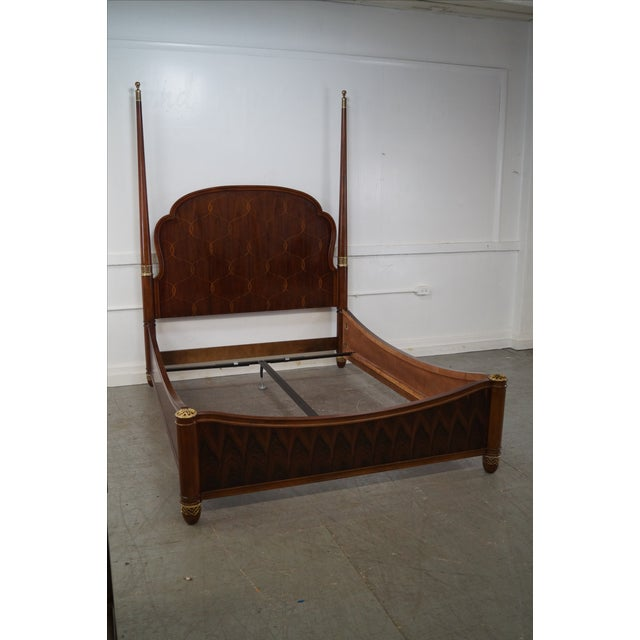 Bob Mackie American Drew Art Nouveau Queen Bed - Image 4 of 10