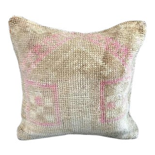 Tribal Soft Pale Turkish Pillow Case For Sale