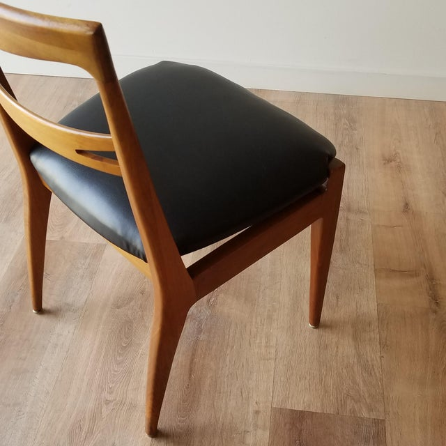 1953 Newly Upholstered Drexel Declaration Collection Dining Chairs - Set of 6 For Sale In Seattle - Image 6 of 13