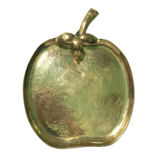 Sarreid Ltd. Brass Apple Tray