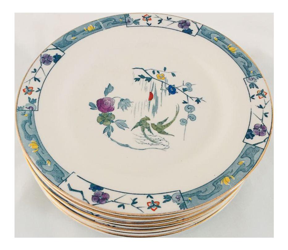 Antiques Asian Style Plates - Set of 11  sc 1 st  Chairish & Antiques Asian Style Plates - Set of 11   Chairish