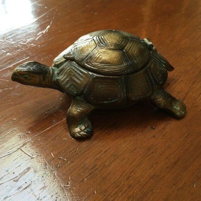Austrian Gilt Metal Turtle Ashtray - Image 3 of 7