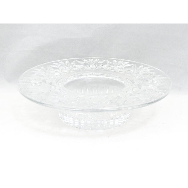 Waterford Pillar Candle Holder/Wine Coaster For Sale - Image 11 of 11