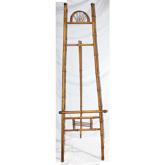Antique Bamboo Easel - Image 2 of 4