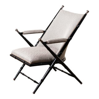Bamboo Style Frame Camp Chair For Sale