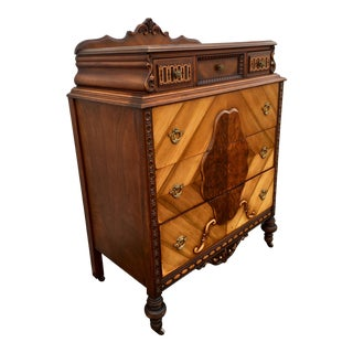 1930s Italian Neoclassical Chest of Drawers For Sale