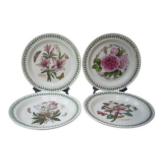 Portmeirion Dinner Plates - Set of 4