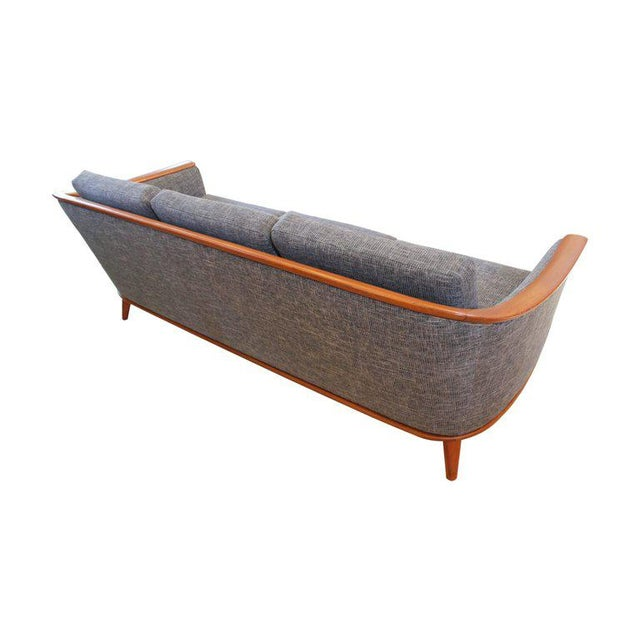 Mid-Century Modern Sofa With New Foam & Upholstery, 1960s For Sale In Sacramento - Image 6 of 11