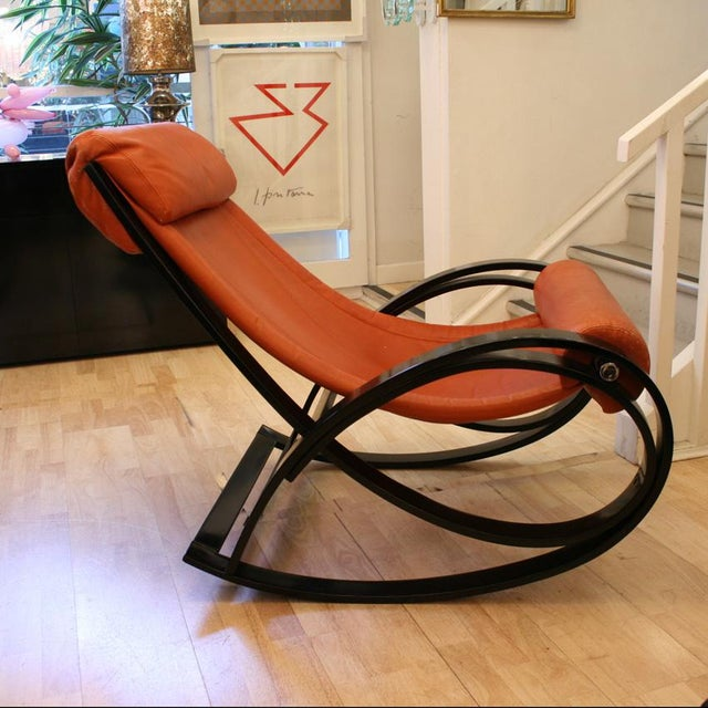 Modern Sgarsul Rocking Chair For Sale - Image 3 of 5