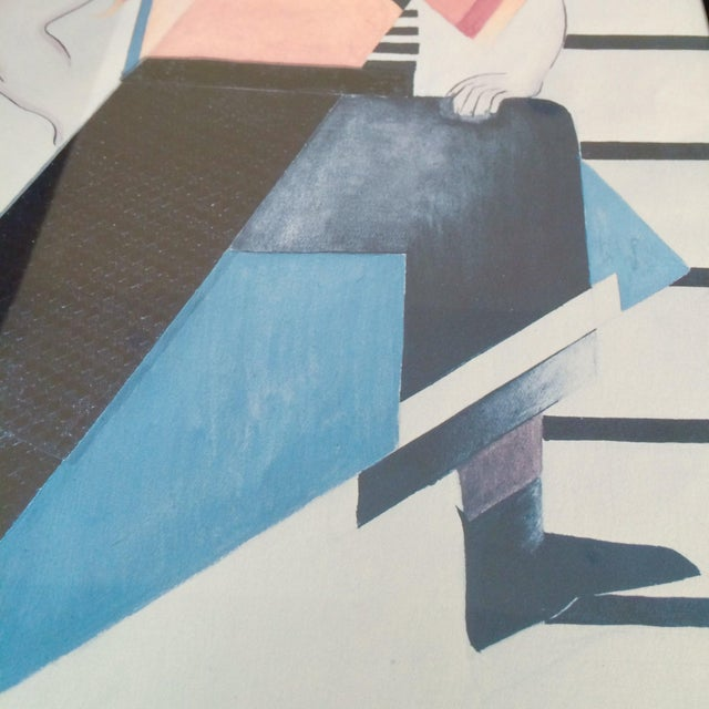 Vintage Russian Avant-Garde Exhibit Poster - Image 10 of 12