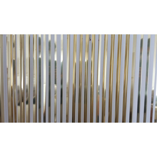 Curtis Jere Kinetic Wave Form Chrome & Brass Wall Sculpture - Image 10 of 11