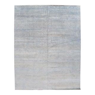 "Apadana - 21st Century Oversize Blue Savannah Carpet, 12' 2"" X 15' 3"""