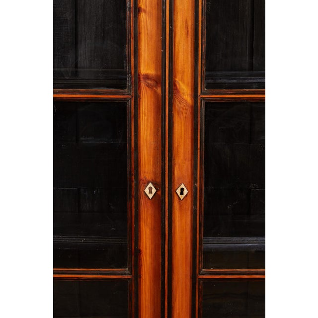19th C. English Pine Cabinet For Sale - Image 4 of 6