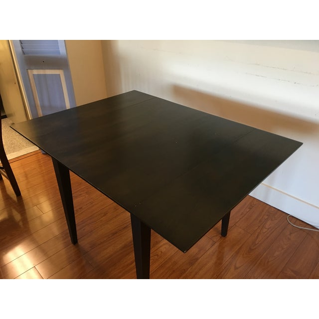 Room & Board Room & Board Drop-Leaf Dining Table For Sale - Image 4 of 9