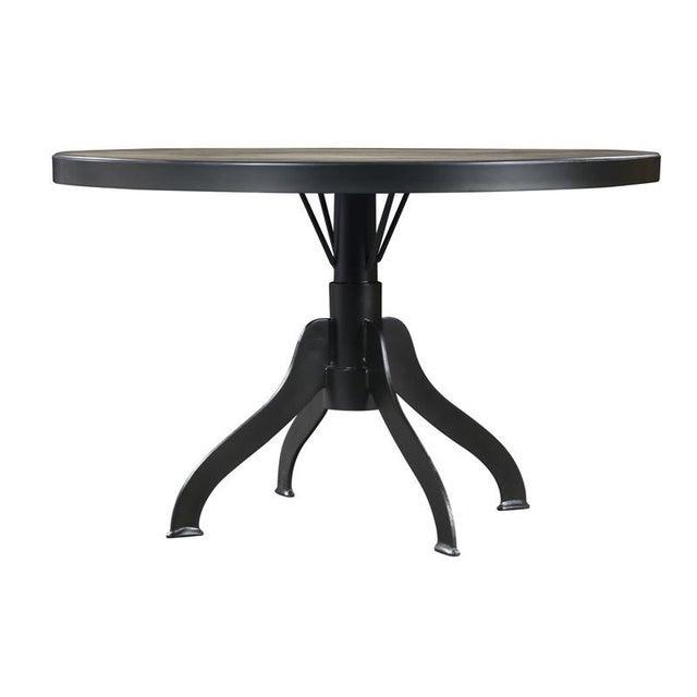 Magnussen Walton Iron & Wood Pedestal Table - Image 2 of 7