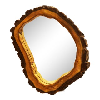 Wall mirror by Carl Auböck For Sale