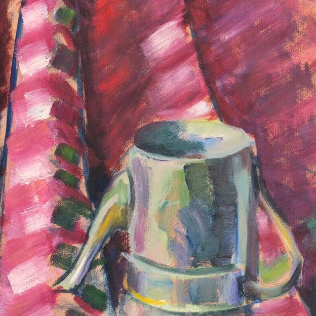 Viginia Sevier Rogers Still Life With Espresso Pot - Image 6 of 9