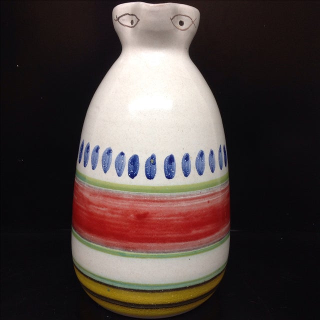 Desimone Hand-Decorated Italian Pitcher - Image 3 of 4
