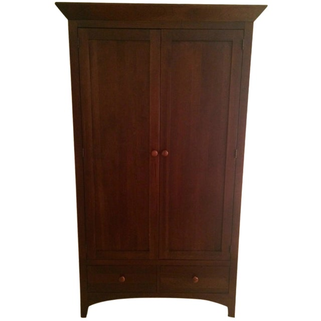 Ethan Allen Cherry Wood Armoire - Image 1 of 10