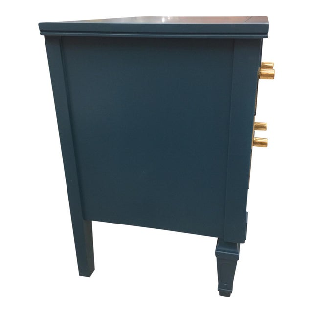 Hollywood Regency 20th Century Hollywood Regency Drexel Side Table/ Night Stand For Sale - Image 3 of 6