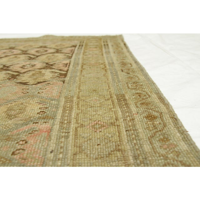 1920s 1920s Vintage Persian Kurdish Style Rug - 3′1″ × 9′3″ For Sale - Image 5 of 11