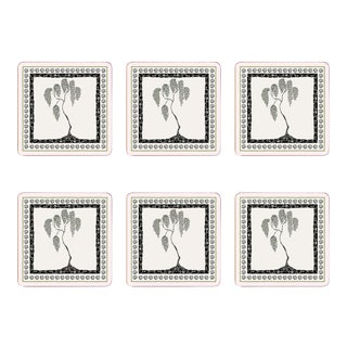 Baby Willow Tree Square Placemats- Set of 6