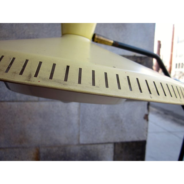 Large 5 Foot High 1950s Italian Modernist Mid-Century Modern Atomic Era Floor Lamp For Sale - Image 11 of 13
