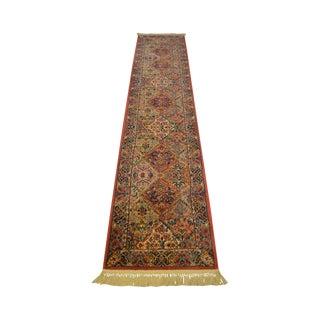 Karastan Multi Color Kirman Panel 2.6x12 Runner Rug Carpet