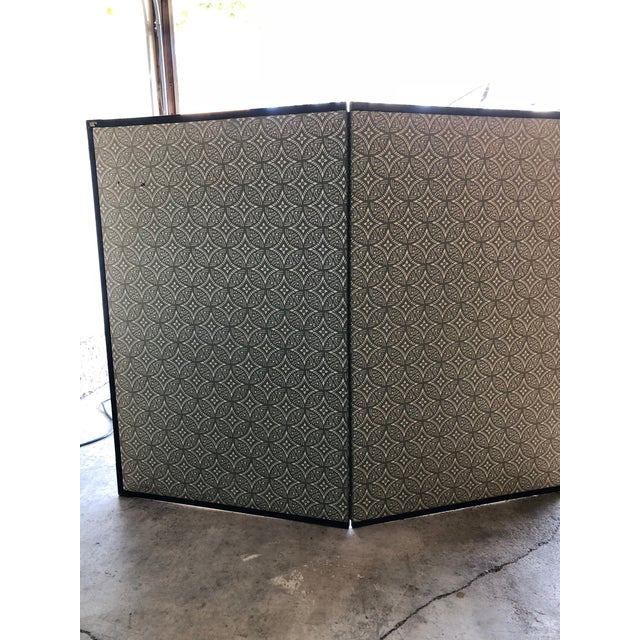 Antique Chinese Paper Screen - Image 4 of 7